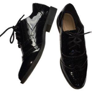 Asos 6 Black shiny shoes